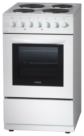 Купить Электрическая плита Vestel VCV55W белый в интернет магазине DNS. Характеристики, цена Vestel VCV55W   1101892